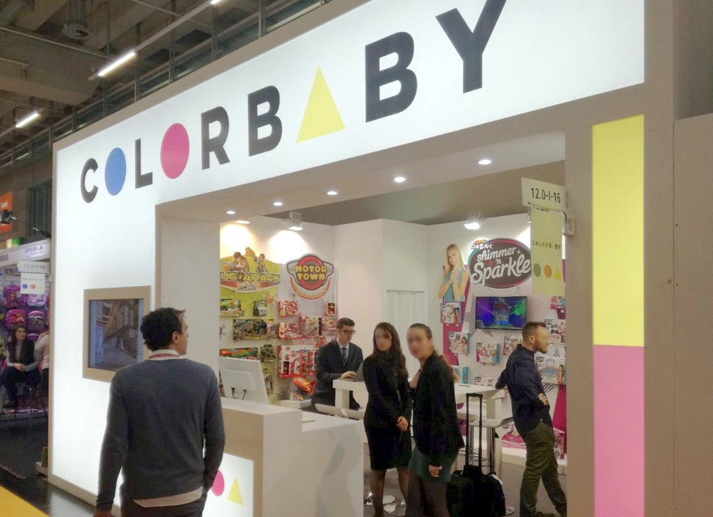 Spielwarenmesse – Colorbaby 2018